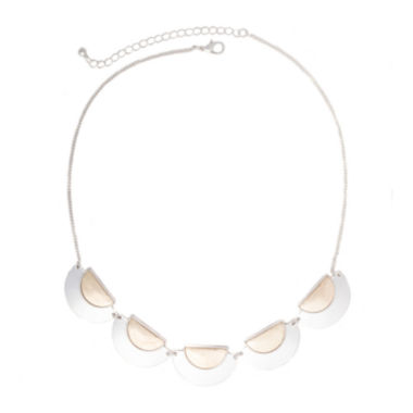 jcpenney.com | a.n.a® 5-pc. Two-Tone Crescent Cast Necklace