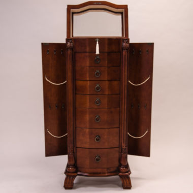 jcpenney.com | Hives & Honey Nicole Antique Walnut Locakble Jewelry Armoire