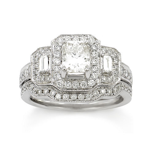 LIMITED QUANTITIES! 2 1/3 CT. T.W. Diamond 14K White Gold Ring