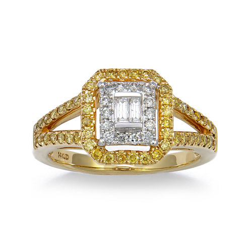 LIMITED QUANTITIES! 1/2 CT. T.W. Diamond 14K Yellow Gold Ring