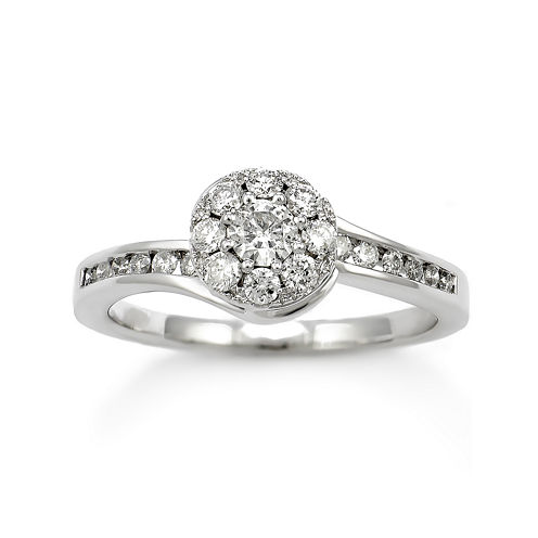 LIMITED QUANTITIES! 5/8 CT. T.W. Diamond 14K White Gold Ring