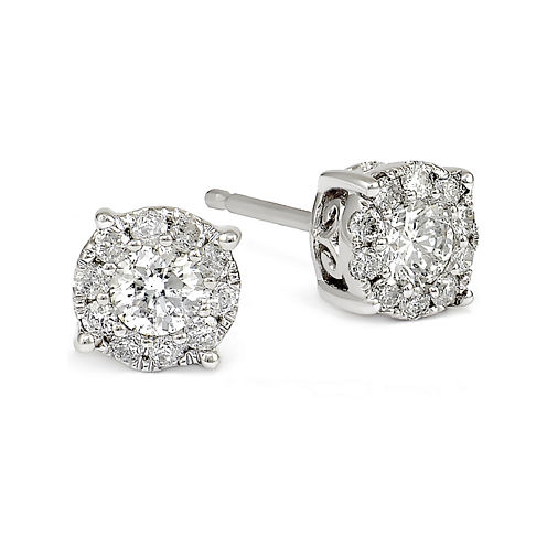 LIMITED QUANTITIES 1/2 CT. T.W. White Diamond 14K Gold Drop Earrings