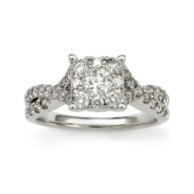 jcpenney.com | LIMITED QUANTITIES! 1 1/4 CT. T.W. Diamond 14K White Gold Ring