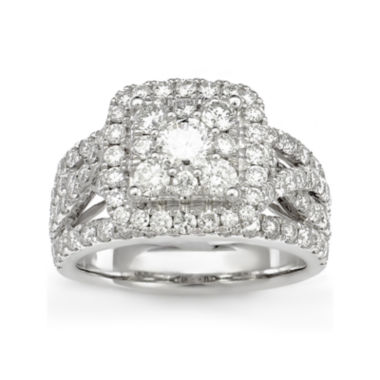 jcpenney.com | 2 1/2 CT. T.W. Diamond 14K White Gold Ring