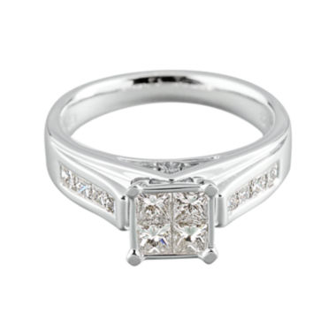 jcpenney.com | 1 CT. T.W. Diamond 14K White Gold Ring