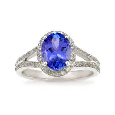 jcpenney.com | LIMITED QUANTITIES! Purple Tanzanite 14K White Gold Ring