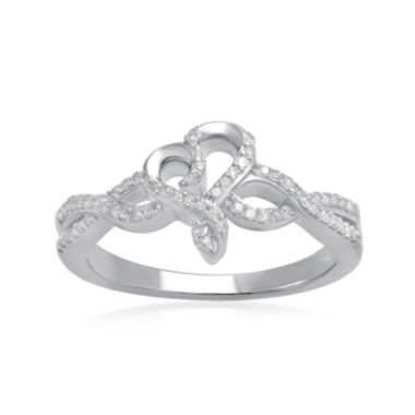 jcpenney.com | Hallmark Diamonds 1/5 CT. T.W. Diamond Sterling Silver Ring