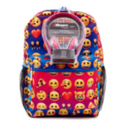 "Emojiland Rainbow 17"" Backpack"