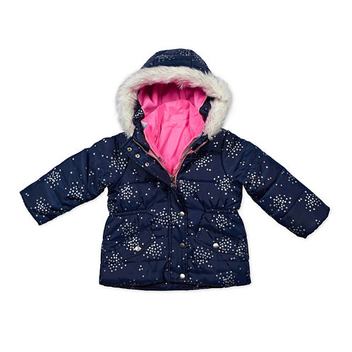 Carter's® Multicolor Long-Sleeve Coat - Preschool  Girls