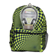 "Hypno Check Boys' 17"" Backpack with Headphones"