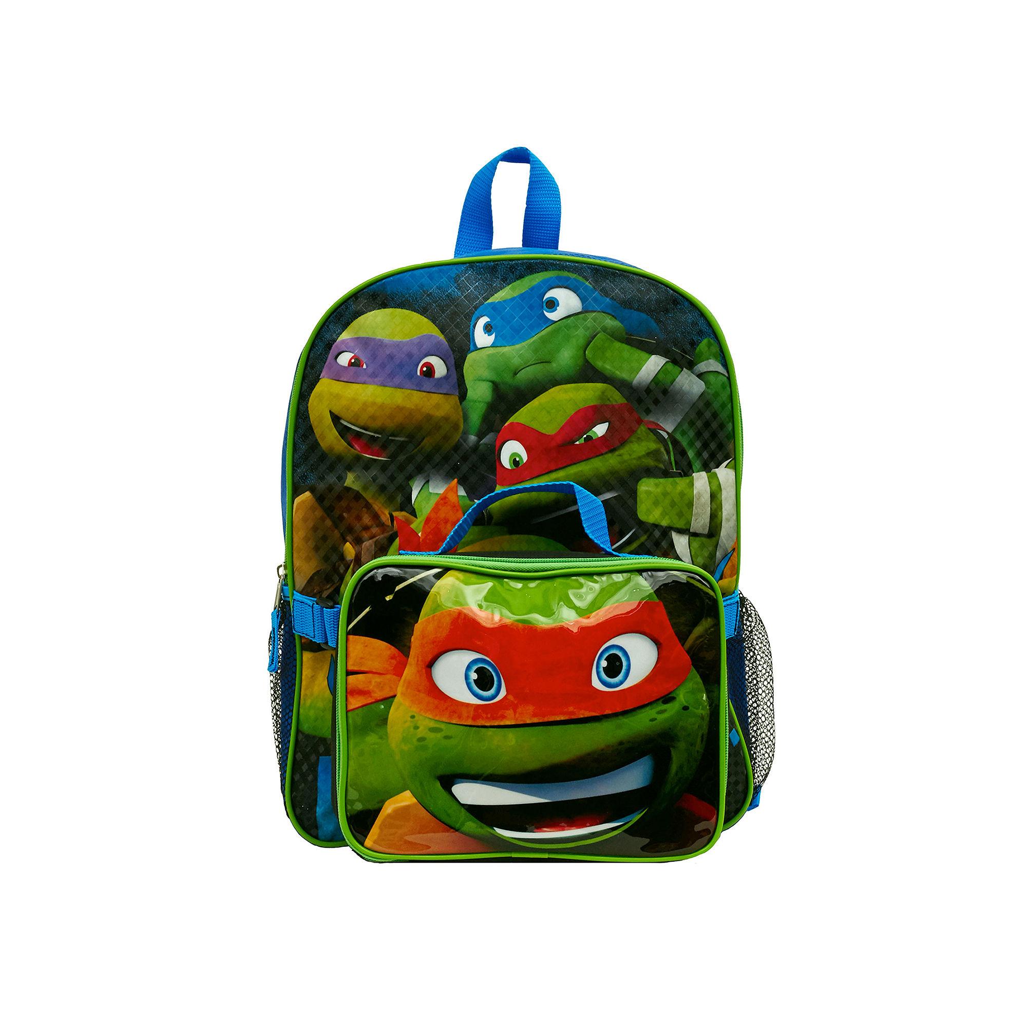 "Teenage Mutant Ninja Turtles ""Buyacha"" Boys' Backpack with Lunch Kit"