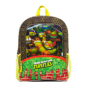 Teenage Mutant Ninja Turtles Green Slime Boys' Backpack