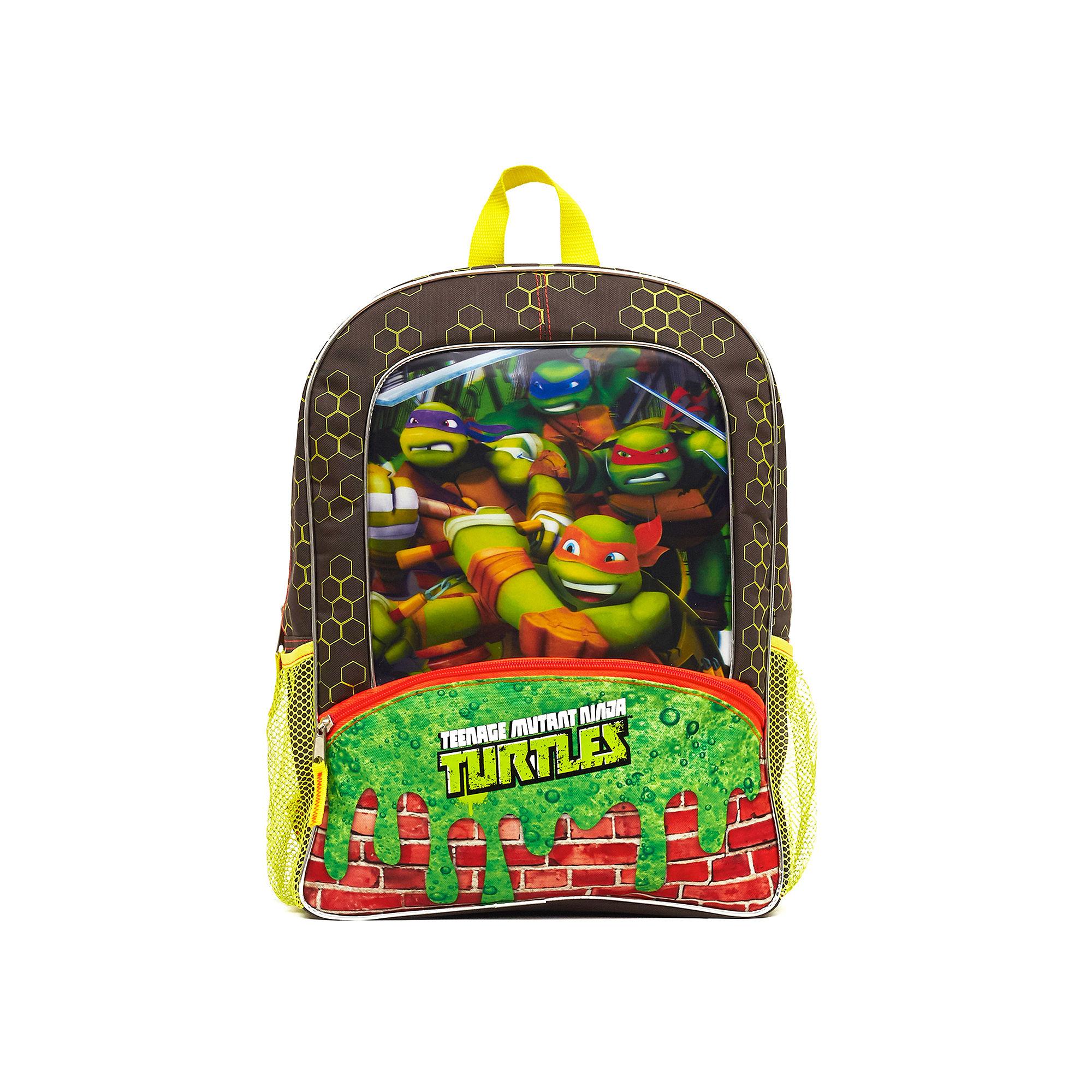 Teenage Mutant Ninja Turtles Green Slime Boys' Backpack