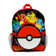 Pokémon Boys' Backpack with Lunch Kit