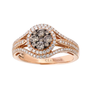 jcpenney.com | Le Vian Grand Sample Sale 7/8 Ct. T.w. Champagne Diamond 14k Rose Gold Ring