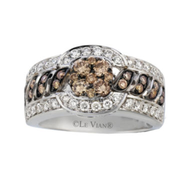 jcpenney.com | Le Vian Grand Sample Sale 1 1/5 Ct. T.w. Champagne Diamond 14k White Gold Ring