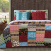 Greenland Home Fashions 4 pc Quilt Set