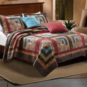 Greenland Home Fashions 9 pc Quilt Set
