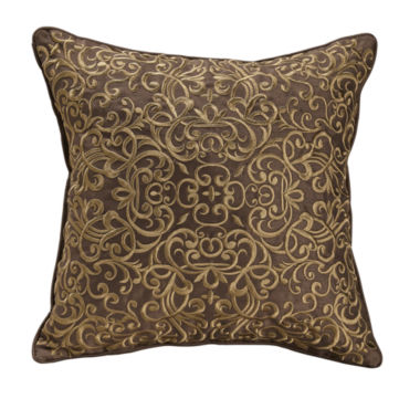 "jcpenney.com | Croscill Classics® Royal Red 16"" Square Decorative Pillow"