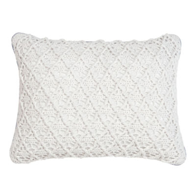 Croscill Classics® Embroidered Shells Boudoir Decorative Pillow