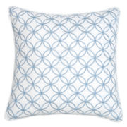 """Croscill Classics® Embroidered Shells 16"""" Fashion Decorative Pillow"""