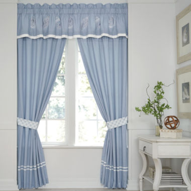 jcpenney.com | Croscill Classics® Embroidered Shells 2-Pack Curtain Panels