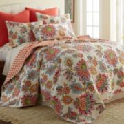 Levtex Floral Quilt Set