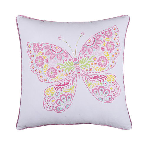Levtex Ellie Butterfly Decorative Pillow