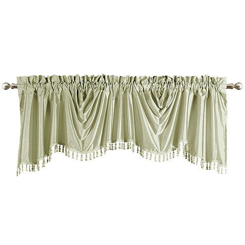United Curtain Co. Anna Rod-Pocket Valance
