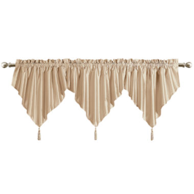 jcpenney.com | United Curtain Co. Anna Rod-Pocket Ascot Valance