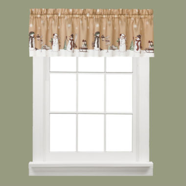 jcpenney.com | Aspen Snow Rod-Pocket Valance