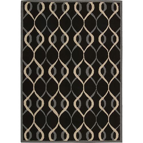 Nourison® Salem Hand-Hooked Rectangular Rug