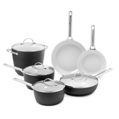 jcpenney.com | GreenPan™ Padova 10-pc. Hard-Anodized Nonstick Cookware Set