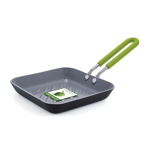 "GreenPan™ Mini 5"" Ceramic Nonstick Square Toast Pan"