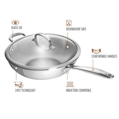 jcpenney.com | Oxo Stainless Steel Wok