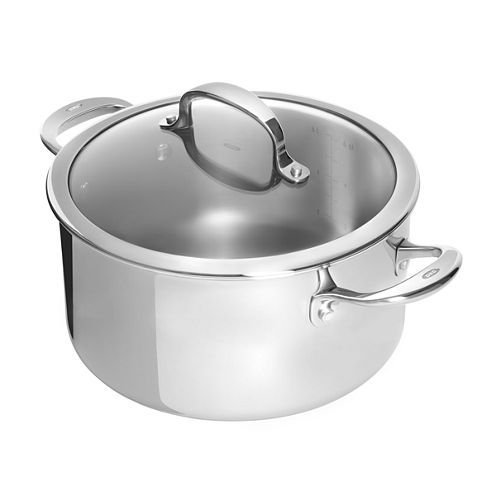 OXO® Pro 8-qt. Stainless Steel Stockpot with lid