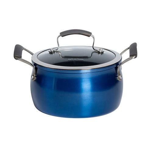 Epicurious 4-qt. Covered Soup Pot with Lid