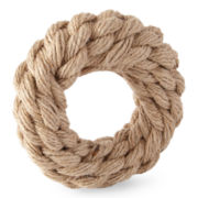 JCPenney Home™ Jute Braided Set of 4 Napkin Rings