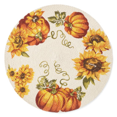 jcpenney.com | Fraiche Maison® Pumpkin Patch Set of 4 Placemats
