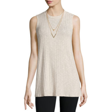 jcpenney.com | Alyx® Ribbed Swing Tank Top - Petite