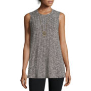 Alyx® Sleeveless Ribbed Layered Top