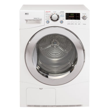 "jcpenney.com | LG 4.2 cu.ft. 24"" Electric Dryer with Compact Front LED display and Dial-A-Cycle™"