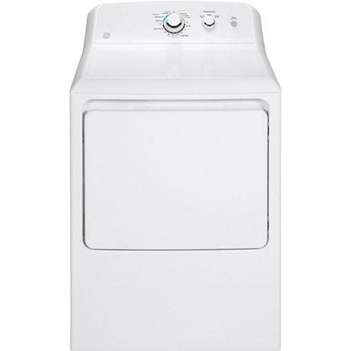 GE® 7.2 cu. ft. Aluminized-Alloy Drum Gas Dryer