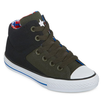 ae6b8e4a34fab0 Converse Chuck Taylor All Star High Street - Hi Boys Sneakers - Little Kids  Big