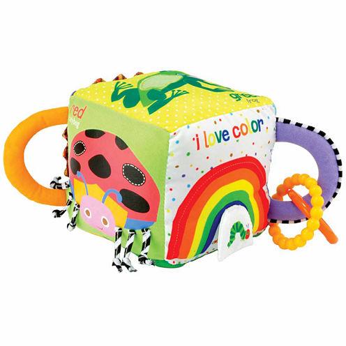 Kids Preferred Eric Carle Soft  Cube Interactive Toy - Unisex