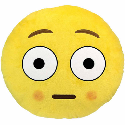 Kids Preferred Emoji Blush Large Pillow Plush Doll