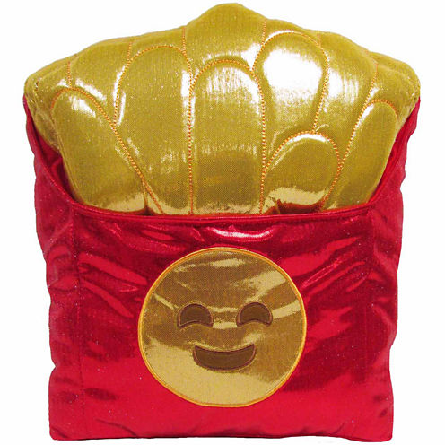 Kids Preferred Emoji French Fries Large Pillow Plush Doll