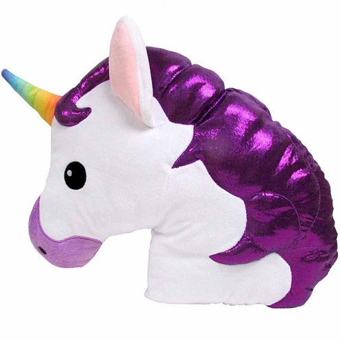 Kids Preferred Emoji Unicorn Large Pillow Plush Doll