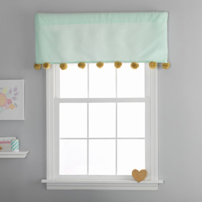 Frank And Lulu Gold Dust Rod-Pocket Valance
