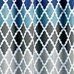 Gateway Lattice Diamond Weave 13-pc. Shower Curtain Set